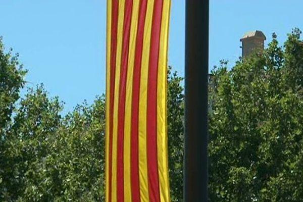 Le rouge et or du drapeau catalan sera-t-il intégré au nouveau logo régional?