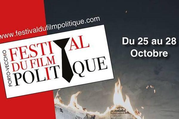 L'affiche du festival du film politique 2018, à Porto-Vecchio.