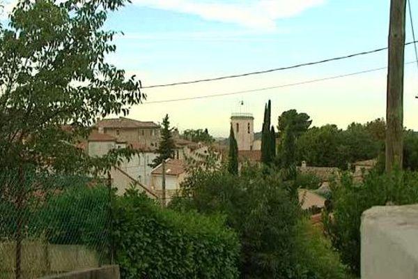 Marseille, quartier des Camoins.
