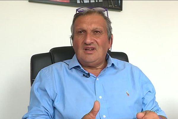 Paul Seignolle, président de l'ADA Blois Basket 41