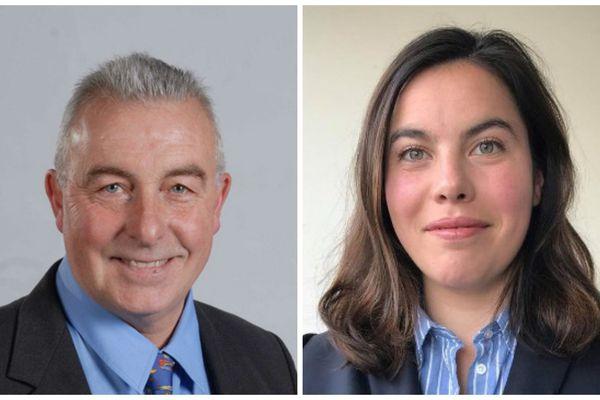 Anne-Laure Cattelot et Gérard Philippe