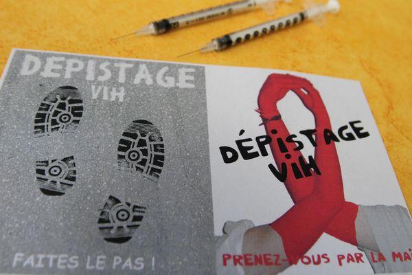 Jusqu'au 8 décembre, l'Agence régionale de santé anime une campagne de dépistage du virus du VIH.