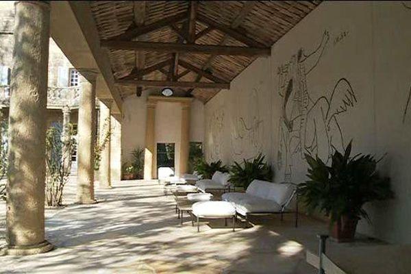 L'un des 5 dessins monumentaux dessinés par le maître andalou au château de Castille