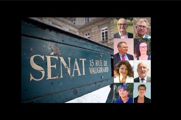 8 candidats, trois femmes et 5 hommes, visent les 2 sièges libres de sénateurs de Dordogne