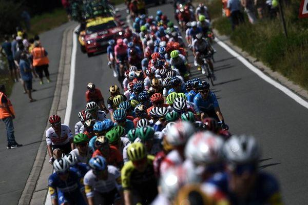 Le peloton du Tour de France va faire un court passage dans les Hauts-de-France