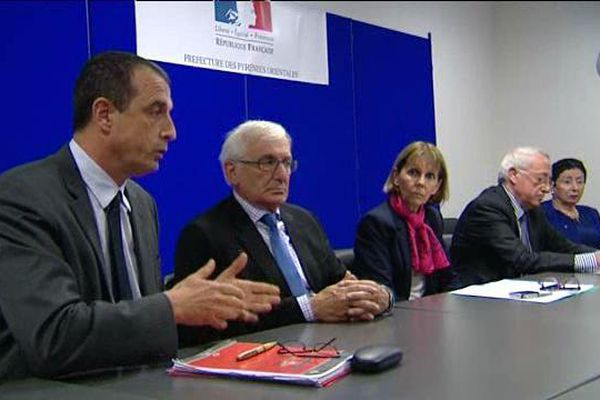 Les maires de plusieurs communes des Pyrénées-Orientales ainsi que la préfète, Josiane Chevalier, ont présenté leurs conditions d'accueil des réfugiés.