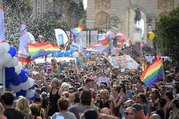 Chaque année depuis un quart de siècle, la marche des fiertés et diversités, connue aussi sous le nom de gay-pride, se déroule à Montpellier. 8000 personnes y ont participé en 2017.