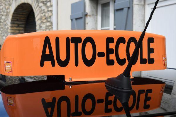 Le taux de réussite au permis de conduire est de 76,39 % en Lozère, selon une étude CLCV. Photo d'illustration.