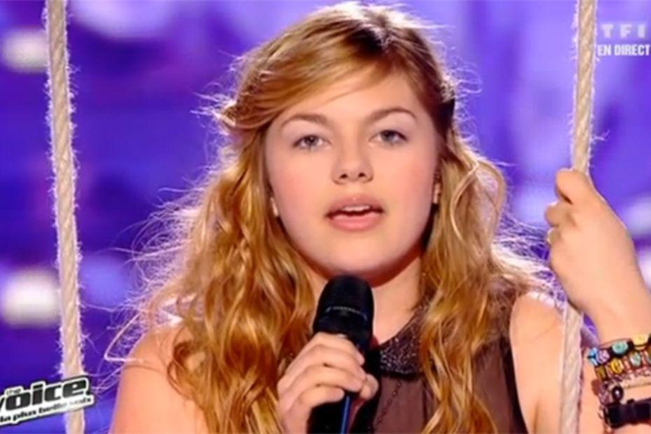 The Voice Louane Sauvee Par Le Public Participera A La Tournee Des 8 Meilleurs Talents