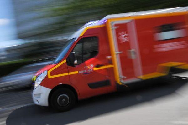 Camion de pompier (Illustration)