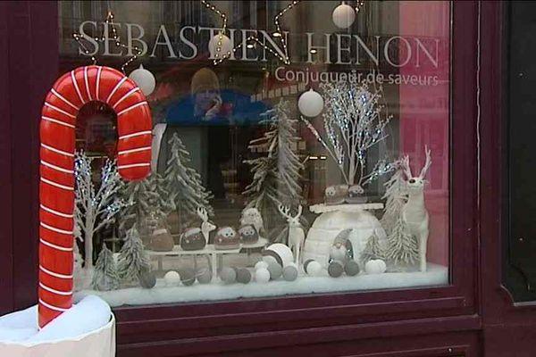 la vitrine de Noël de Sébastien hénon