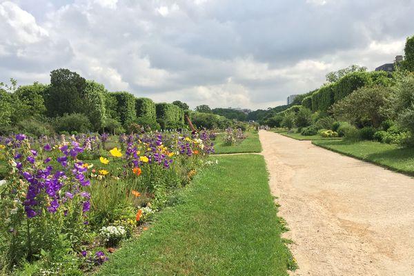 Le Jardin des Plantes, à Paris.