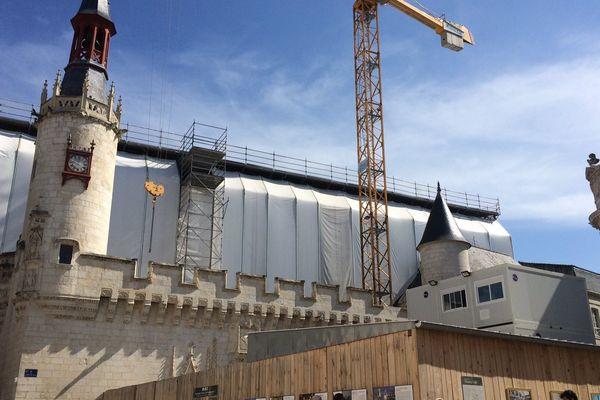 Les travaux de l'Hôtel de Ville doit prendre fin à l'automne 2019.