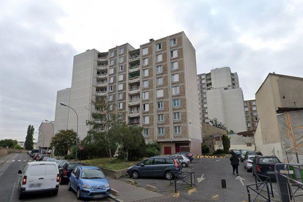 Des immeubles de la cité Cordon de Saint-Ouen. @capture d'écran Goggle Streetview