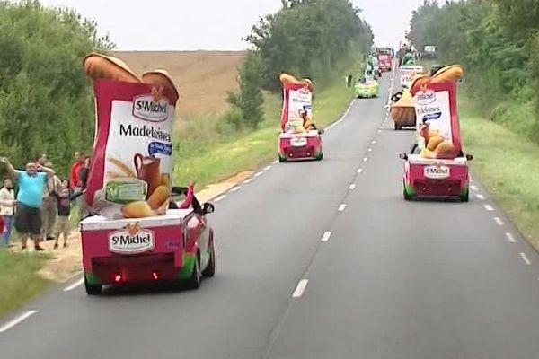 Les madeleines Saint-Michel font leur Tour de France.