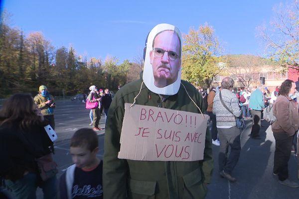 La défiance vis-à-vis du gouvernement se fait ressentir à Prades, dans les Pyrénées-Orientales.