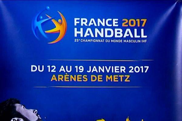 La 25ème édition de ces championnats du monde de hand se déroulera à Metz
