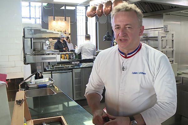 Béziers (Hérault) : le chef Fabien Lefebvre obtient un Bib gourmand 2020 pour son restaurant le Pica Pica - janvier 2020.
