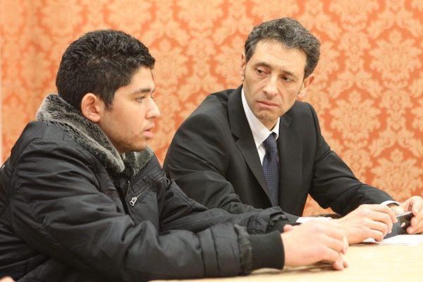 Bryan Bijaoui en 2012 avec son avocat
