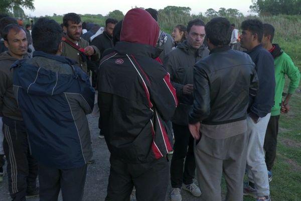 Yann Moix a fait des allers-retours à Calais pendant plusieurs mois.