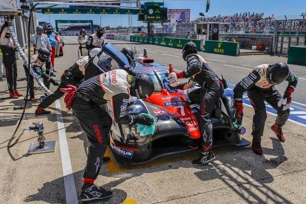 Pôle position pour le pilote alésien Stéphane Sarrazin sur Toyota aux 24h du Mans