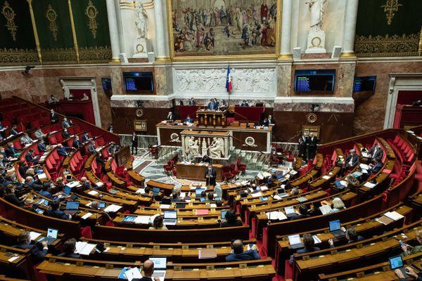 Débat sur la proposition de loi Sécurite Globale a l'Assemblée nationale, le 18 novembre 2020.