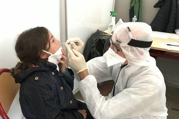 350 personnes testées au covid-19 à l'école Edmond Bocquier à Saint-Gilles-Croix-de-Vie