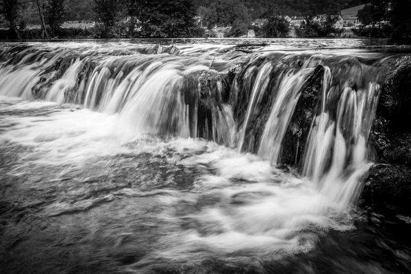 L'eau photographiée dans toute sa beauté et sa puissance du côté de Bettaincourt-sur-Rognon,