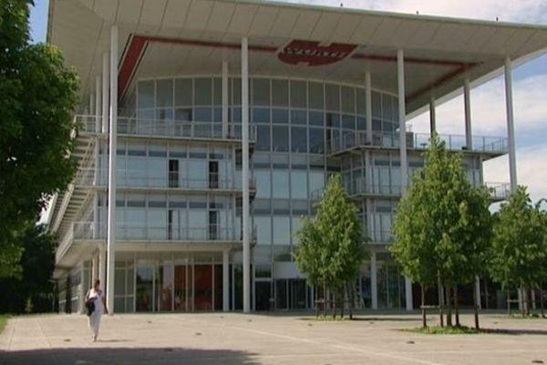 Le site de Würth France à Erstein