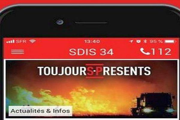 Montpellier - les sapeurs-pompiers de l'Hérault lancent leur application ToujourS-Présents.