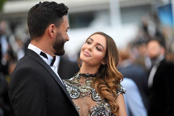 Nabilla Benattia et Thomas Vergara au festival de Cannes en 2018