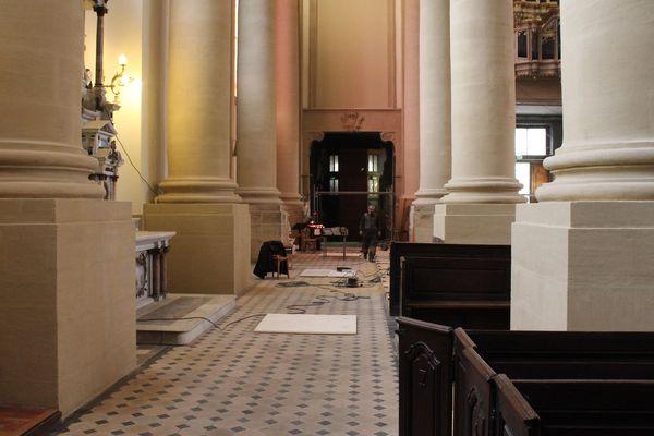 Certaines rénovations seront financés par l'église.