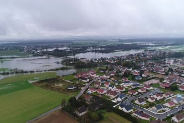 Comme de nombreuses communes de Bourgogne, Bressey-sur-Tille en Côte-d'Or avait subi des inondations en janvier 2018.