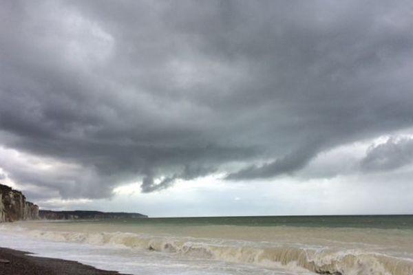 Les nuages seront prédominants sur la Côte d'Albâtre, en ce dimanche.