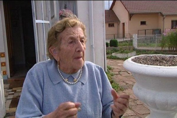 Cette habitante a cru que le Mirage s'écrasait sur sa maison