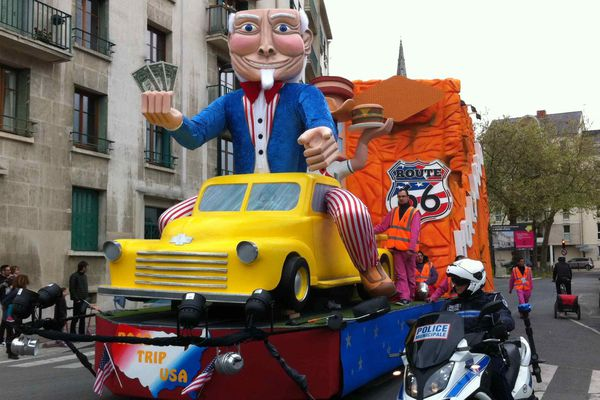 Le carnaval nocturne de Nantes aura lieu ce samedi 23 avril
