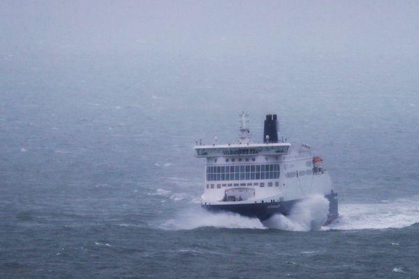 Six rotations sont assurées chaque semaine, entre Dunkerque et Rosslare, en Irlande.