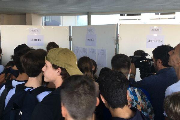 Dans l'académie de Limoges, 76,3% des candidats au bac général et au bac technologique l'ont décroché d'emblée