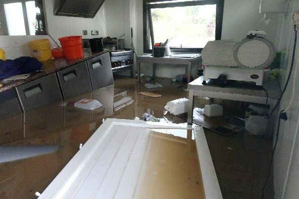 Torcé (35) : la boulangerie inondée - samedi 9 juin 2018