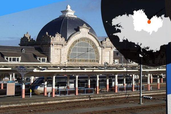 La gare de Saint-Brieuc l'un des reflets de l'architecture briochine