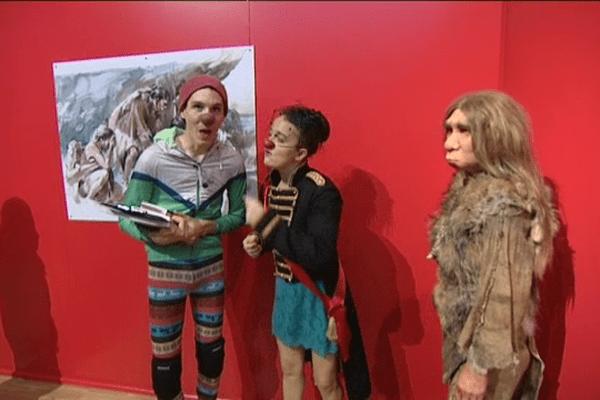 Néanderthal Show au musée de Normandie