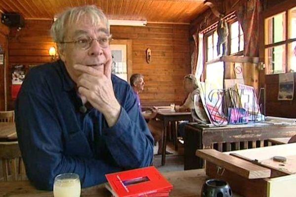 Avant de se lancer dans l'écriture, Dominique Potard a été guide de haute-montagne à Argentière.