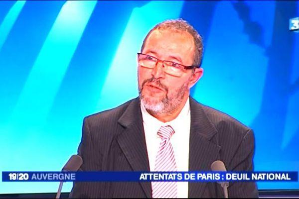 Abdellah Assafiri est imam à Clermont-Ferrand et vice-président régional du Culte musulman en Auvergne.