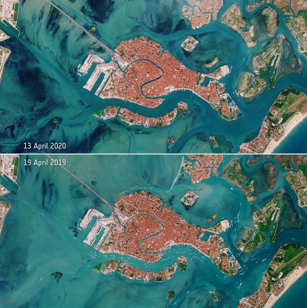 Venise vue du ciel :  19 avril 2019 / 13 avril 2020