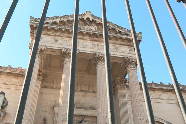 Palais de justice de Perpignan (Pyrénées-Orientales) - archives