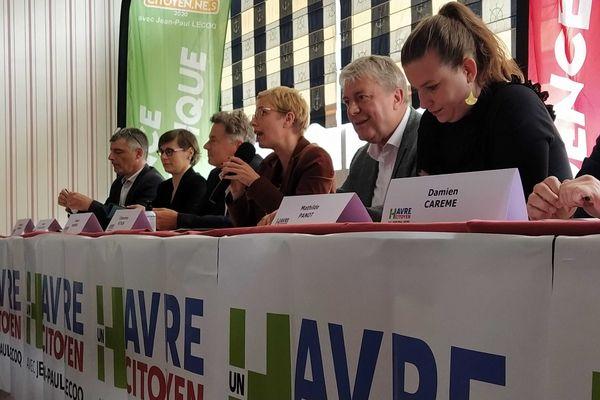 La gauche réunie au Havre autour du candidat Jean-Paul Lecoq