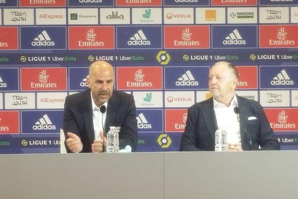 Peter Bosz 57 ans, devient le 30e entraîneur de l'Olympique Lyonnais