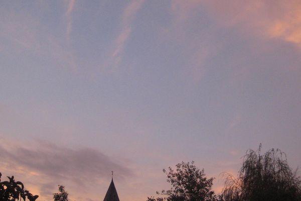 Le ciel du Nord ce dimanche 26 octobre à 7h30