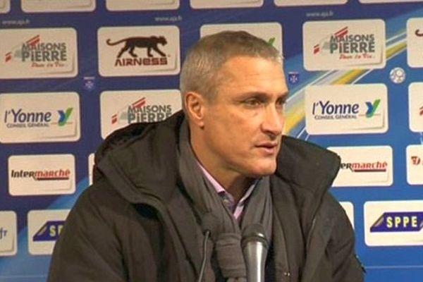 Bernard Casoni, l'entraîneur de l'AJ Auxerre