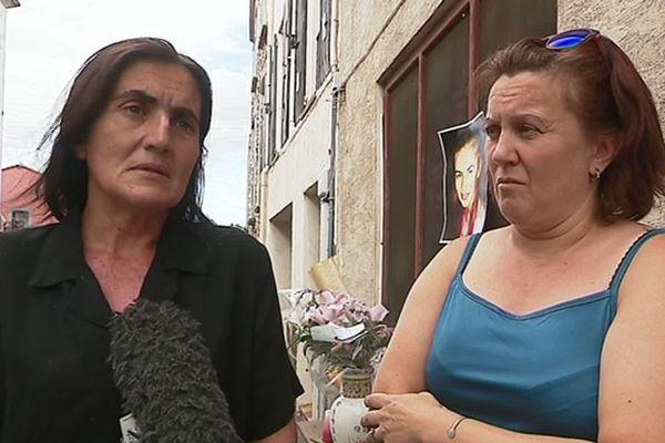 Meurtre de Prescillia dans le cimetière d'Estagel : la mère et la tante de la jeune femme de 18 ans témoignent pour relancer l'enquête - 13 août 2019.